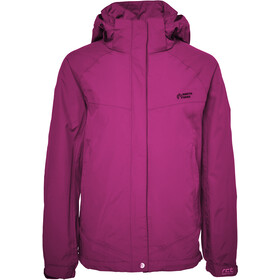 North Bend Guardian Rain Veste Fille, pink berry